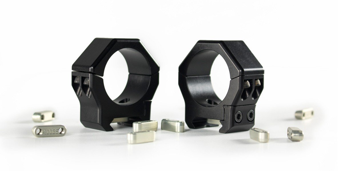 scope mount triad by iotaoutdoors with keys
