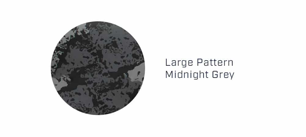 large midnight grey